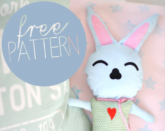 free pattern: easter bunny