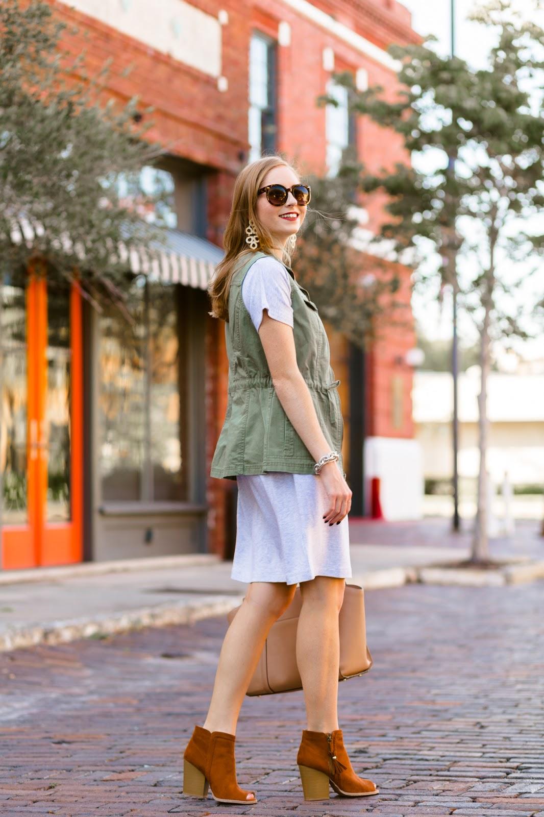 florida fashion blogger brown booties