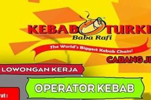 Lowongan Kerja Operator Kebab di Kebab Turki Babe Rafi Sunu