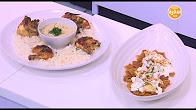 برنامج عمايل إيديا 3-9-2016 طريقة عمل شركسية - فتة دجاج مع نورا السادات