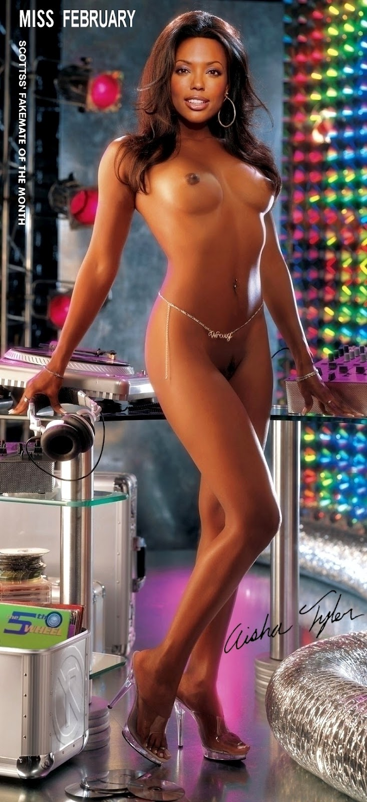 Sexy Nude Photos Of Aisha Tyler Nude Images