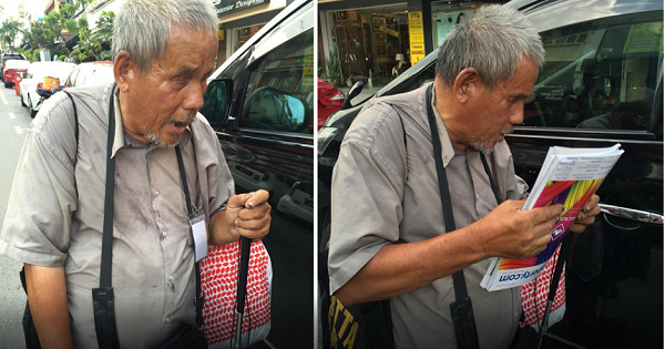 They Thought He Was Just An Old Blind Man, But What They Found Out About Him Was Truly Inspiring!