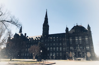 Georgetown University where The Exorcist movie was shot