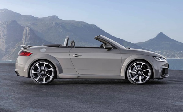 2017 Audi Tt Rs Roadster Review Car Motor Release