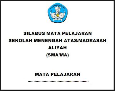 Silabus Geografi SMA/MA/SMK Kurikulum 2013 Revisi 2017