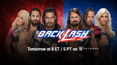 Poster Of WWE Backlash 6th May PPV 2018 HDTV 720P 1GB