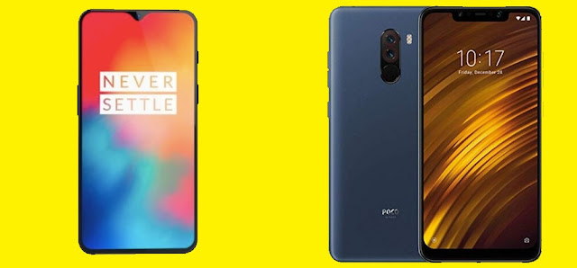 OnePlus 6T Vs Poco F1 detailed comparison and specification