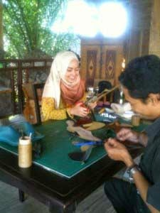 kursus membuat sepatu kulit SBU Yogyakarta