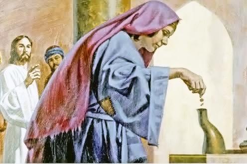 Lingkungan Paulus Perak Paroki St Petrus Kanisius Wonosari Persembahan Janda Miskin