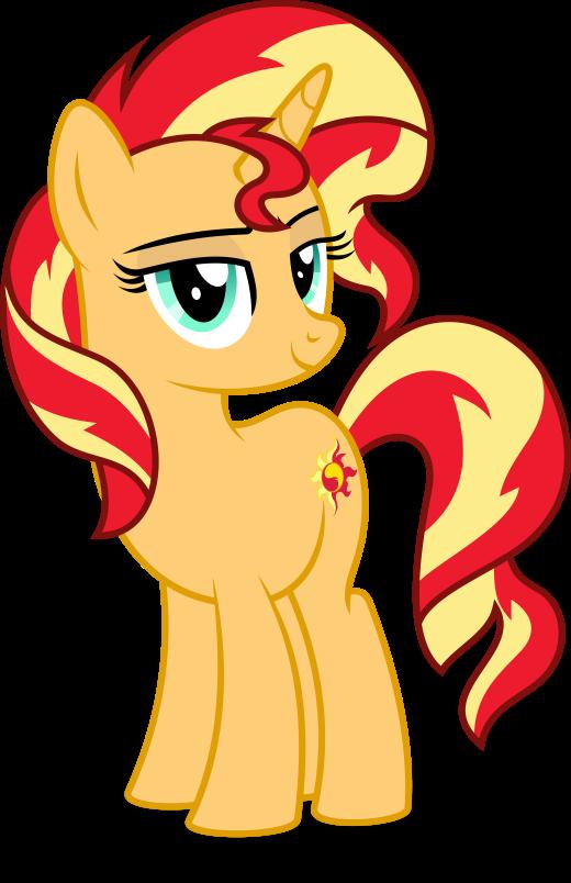 One Smug Horse!