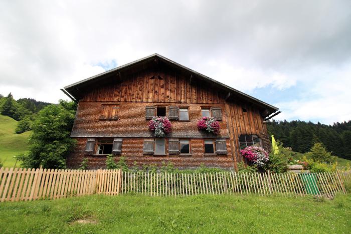 Schindelhaus im Bregenzerwald
