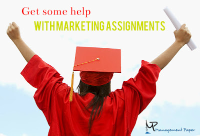 Get some help with marketing assignments