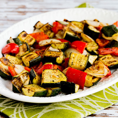 Kalyn's BEST Low-Carb and Gluten-Free Grilling Recipes for Chicken, Fish, Pork, Beef, and Vegetables found on KalynsKitchen.com