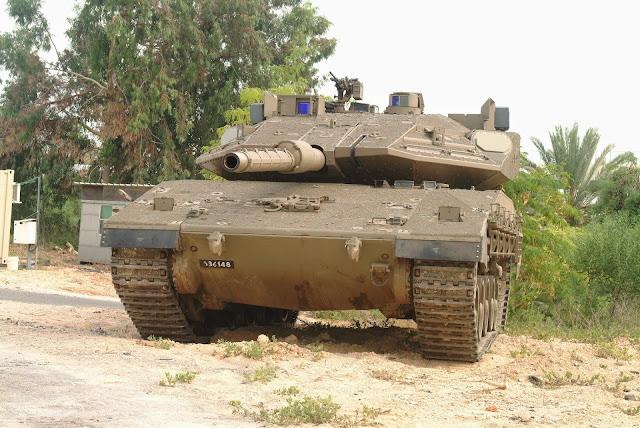 Resultado de imagen para tanque israeli merkava