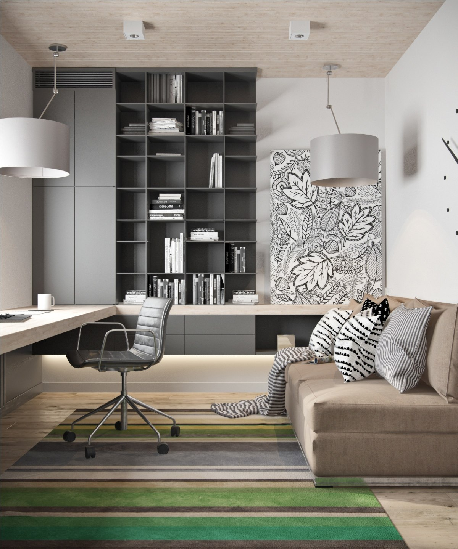 Contemporary Homedecor Ideas: Decordemon: Modern Minimalist Loft With A View