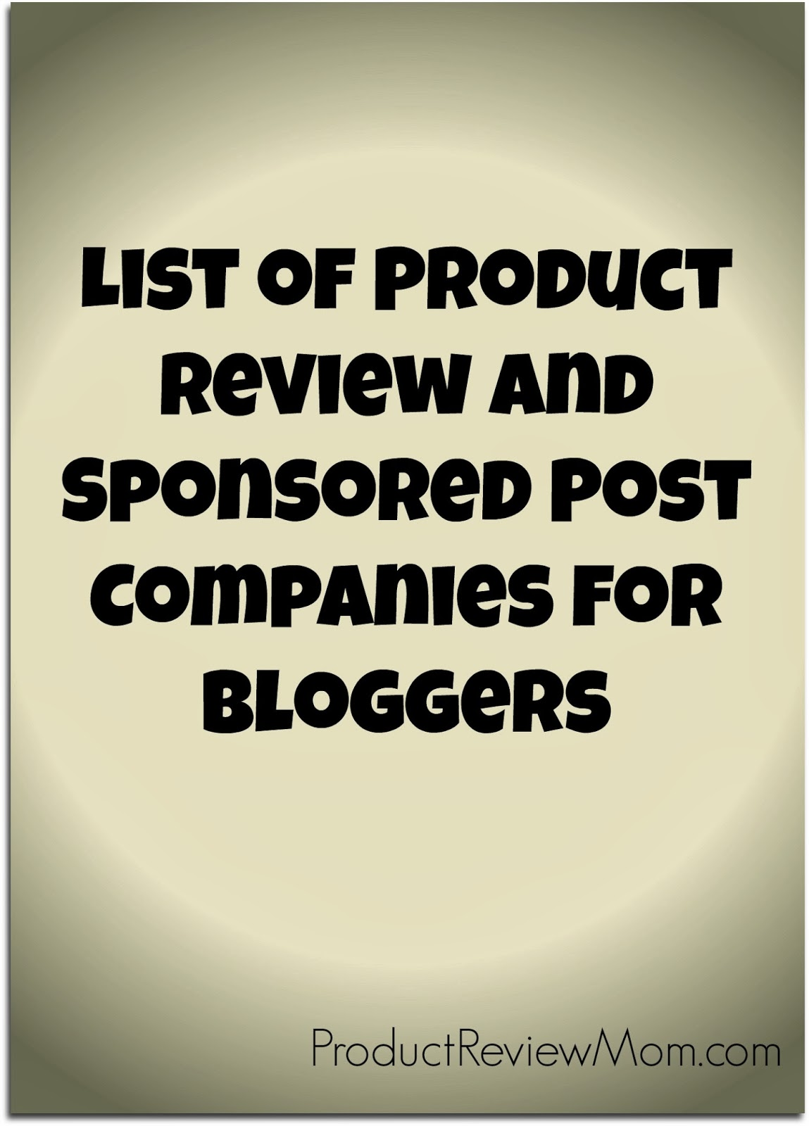 How to Become a Product Review/Sponsored Post Blogger