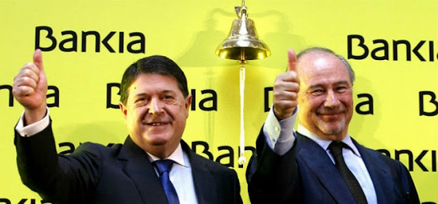 Anuncio de Bankia,, versión del programa humorístico AMP?