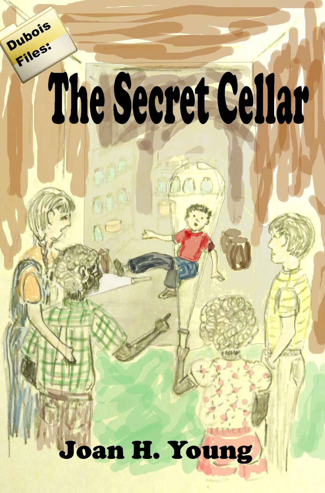 concept cover for The Secret Cellar