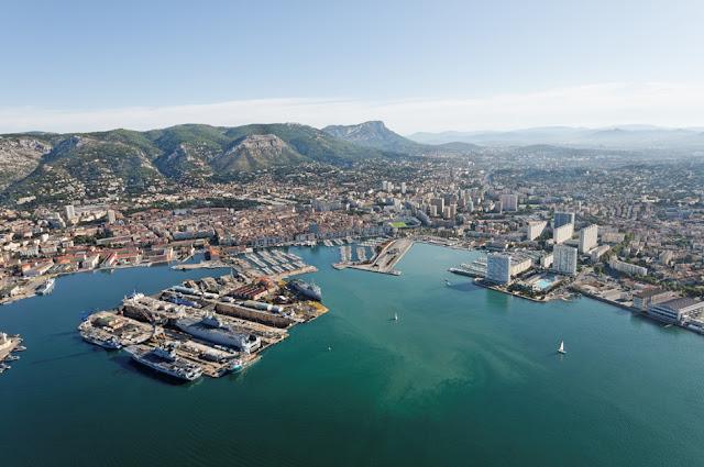 Cidade de Toulon na França