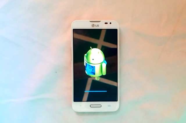restablecer el teléfono LG L70