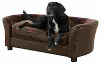 Enchanted Home Pet Brown Ultra Plush Panache Pet Bed