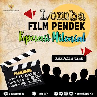Lomba Film Pendek Koperasi Milenial