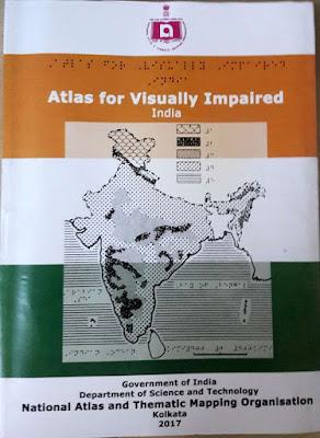 Indijos atlaso silpnaregiams viršelis. Anglų kalba