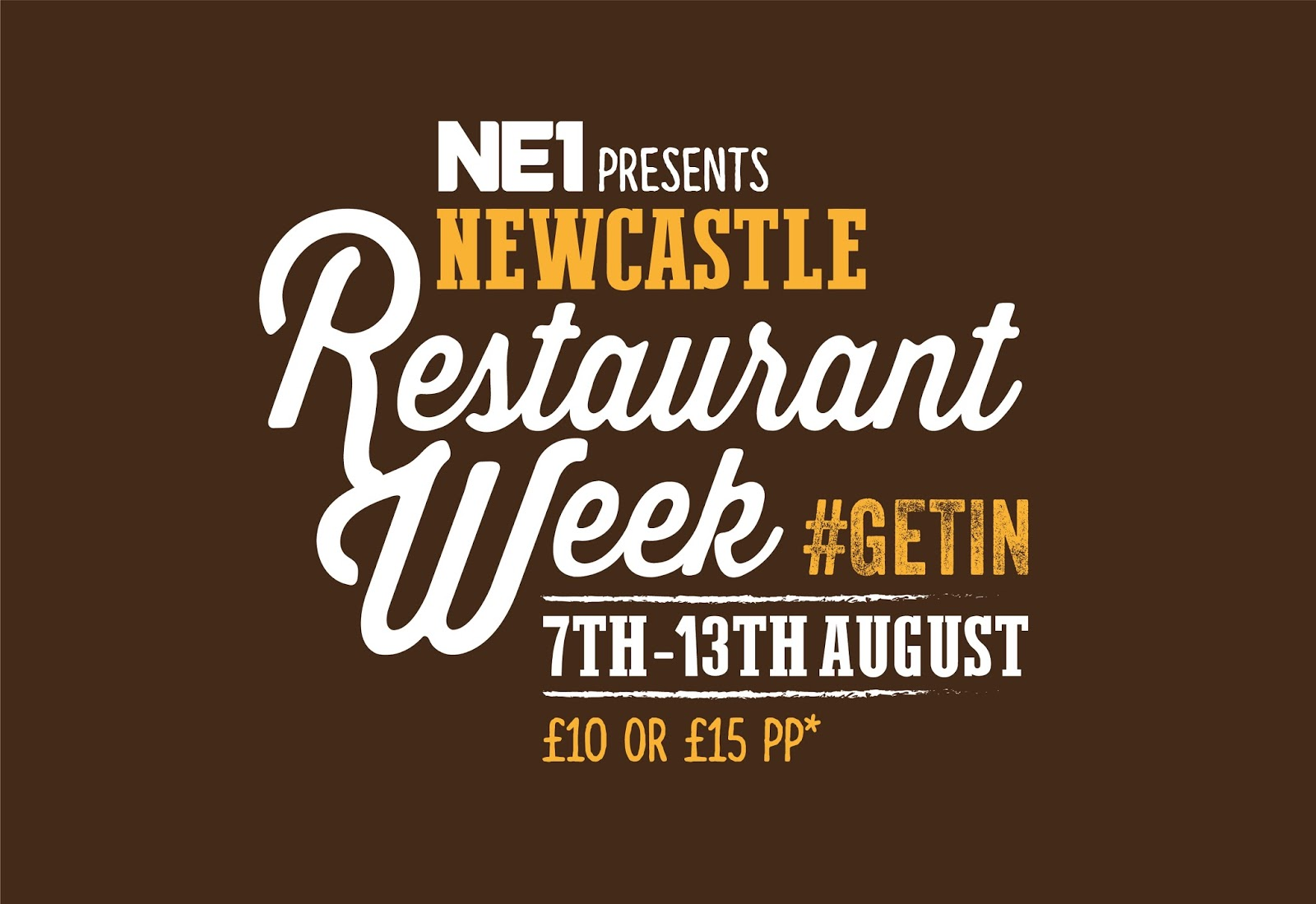 Guide to Newcastle Restaurant Week - August 2017