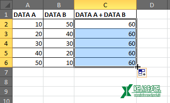 Auto Fill Excel
