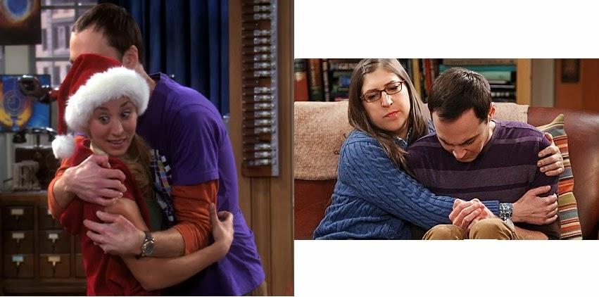 Sheldon sendo mais humano