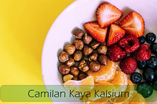 makanan kaya kalsium untuk diet