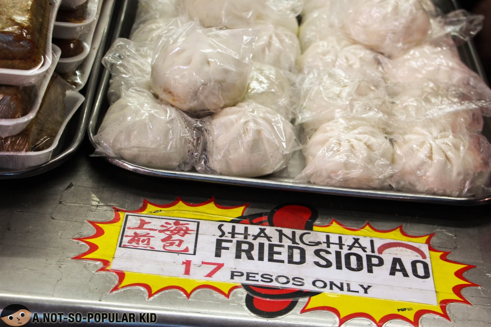 Shanghai Fried Siopao for only P17
