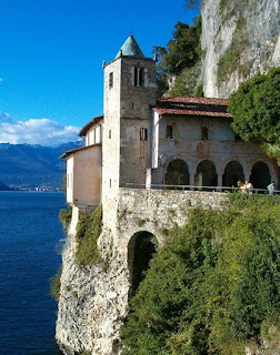 The Hermitage of Santa Caterina del Sasso