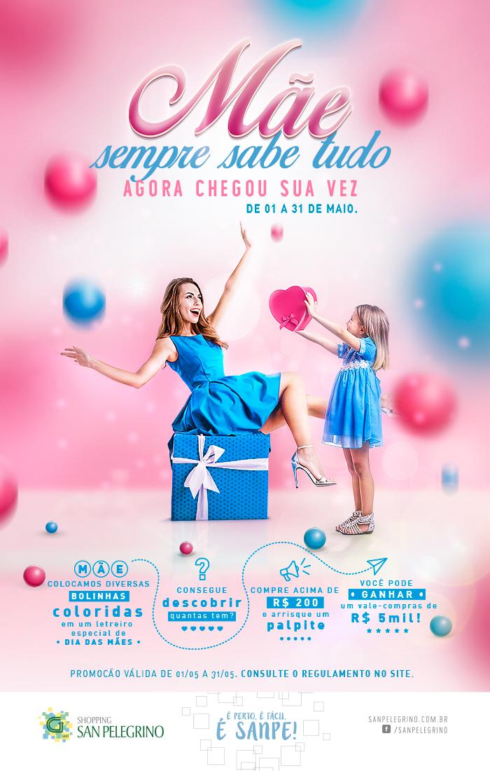 Shopping San Pelegrino promove Campanha de Dia das Mães