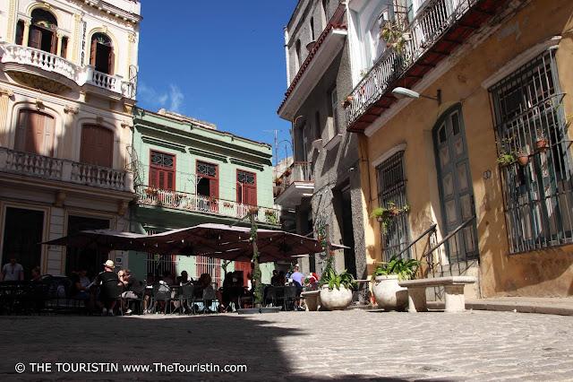 Plazuela de Santo Ángel Custodio vieja havana cuba square touristin
