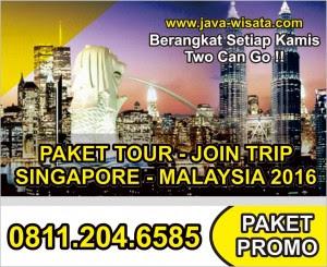 Paket Tour Singapore Malaysia MUrah 2016