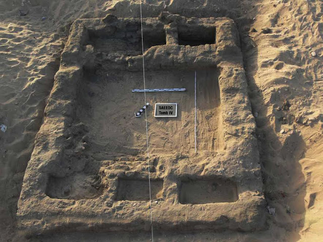 Egyptian archaeologists uncover predynastic settlement, tombs near Abydos