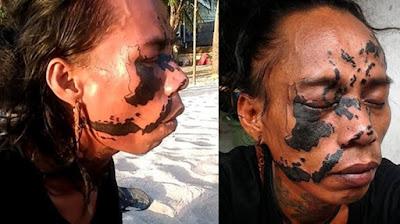 Kisah Haru Ceko, Pria Yang Nekat Tato Peta Indonesia Di Wajahnya