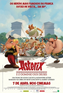 Asterix e o Domínio dos Deuses BDRip Dublado + Torrent