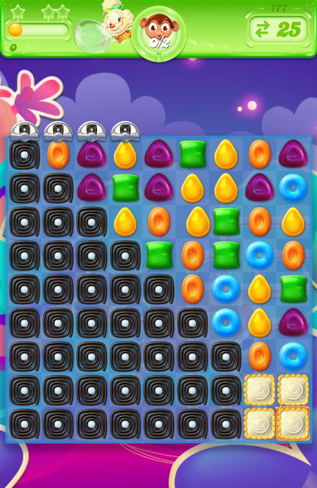 Candy Crush Jelly Saga 177