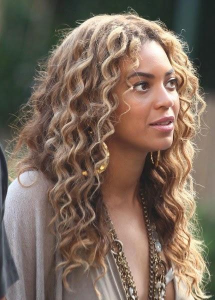 Beyonce black curly hair