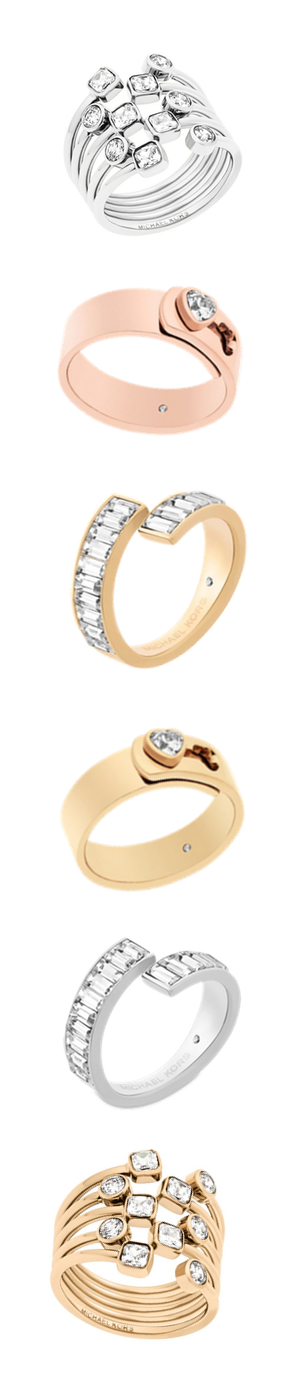 Micahel Kors Assorted Rings (each ring sold separately)