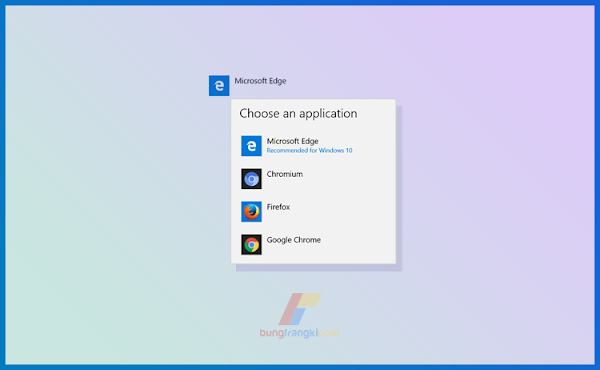 Cara Mengganti Default Browser Windows 10, (Tutorial Dilengkapi Gambar)