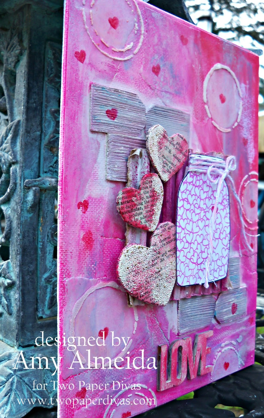 3 Easy Diy Storage Ideas For Small Kitchen: Lil Cutie Creations: Two Paper Divas~ A Little Mixed Media