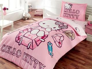 Hello Kitty Petit Bijou Tek Kişilik Nevresim Takımı