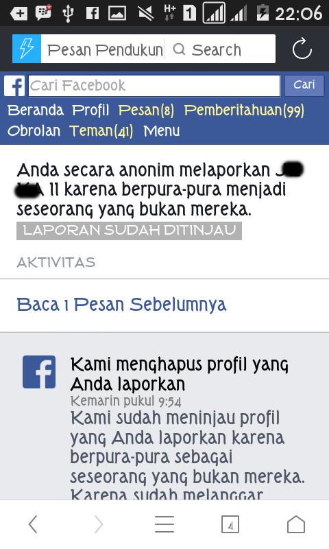 cara report akun facebook agar langsung