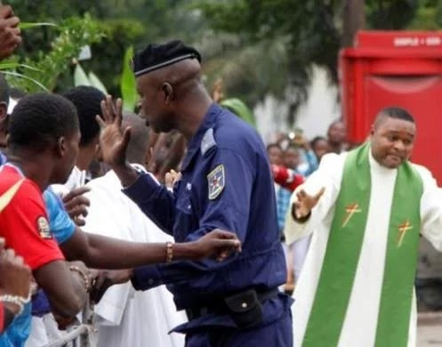 Congo priest arrest