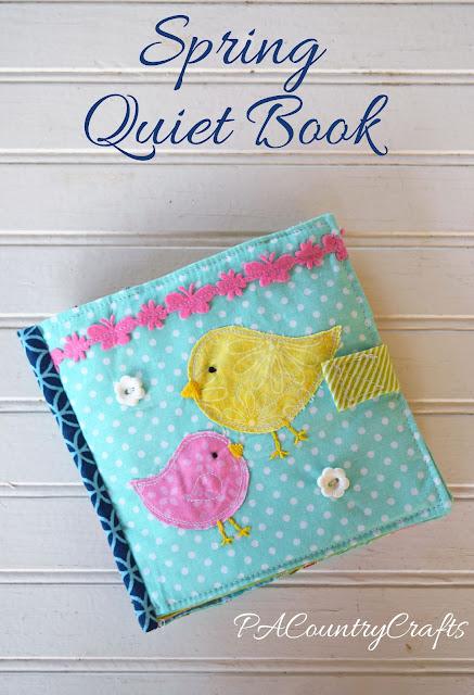 Spring Quiet Book