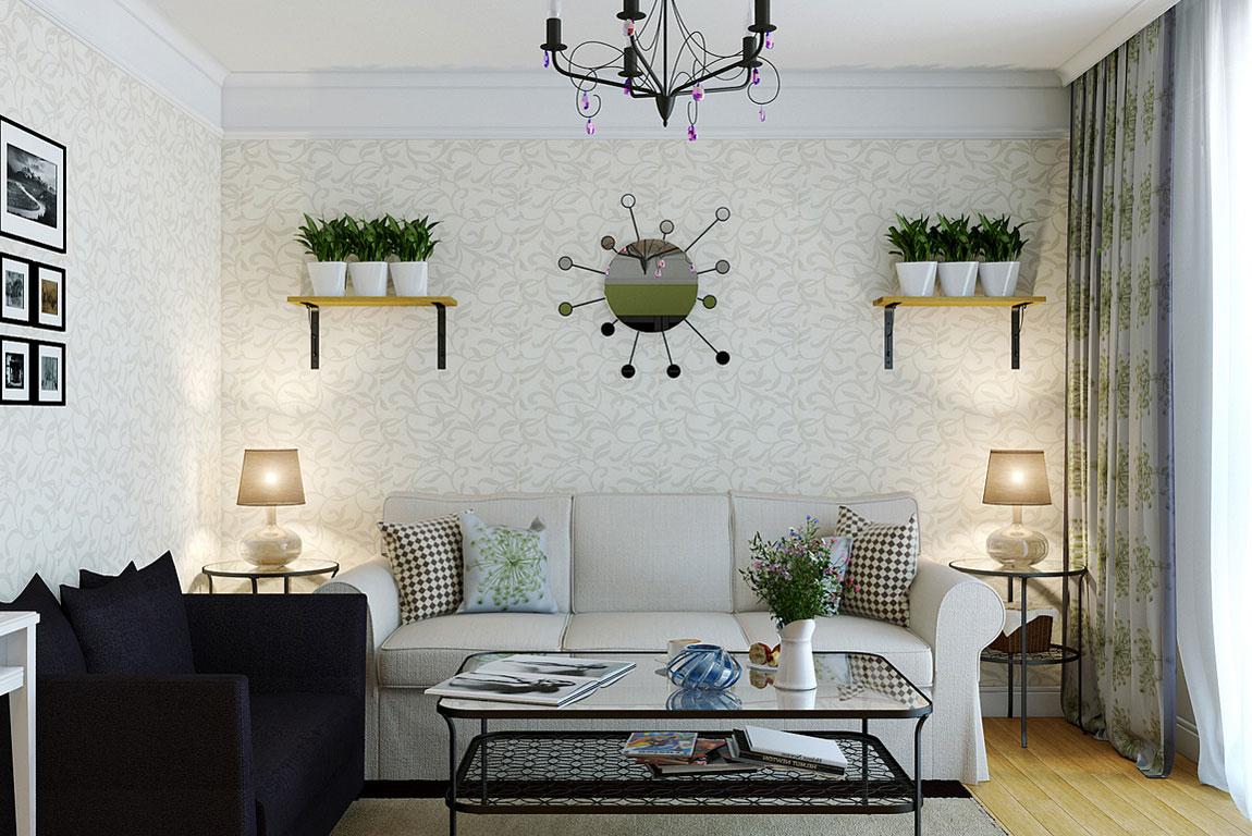 50 Desain Interior Ruangan Tamu Minimalis Modern Dan Klasik