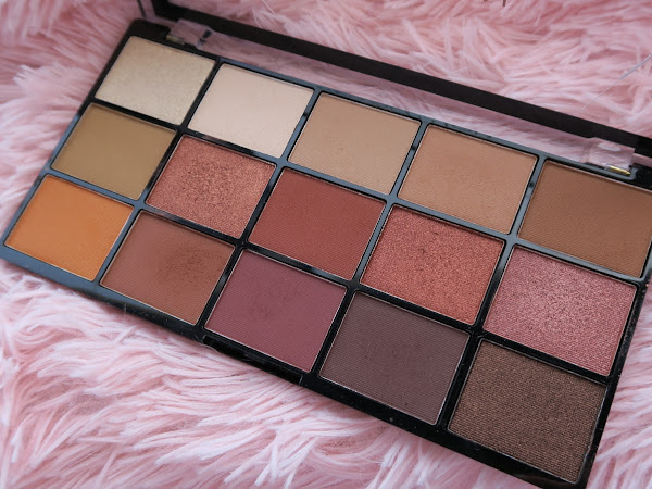 Review - Paleta Reloaded Iconic Fever Makeup Revolution